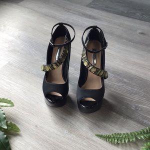 Bakers platform heels